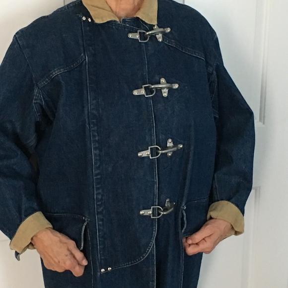 97f2cd31a3 Vintage Ralph Lauren Fireman's Toggle Jacket